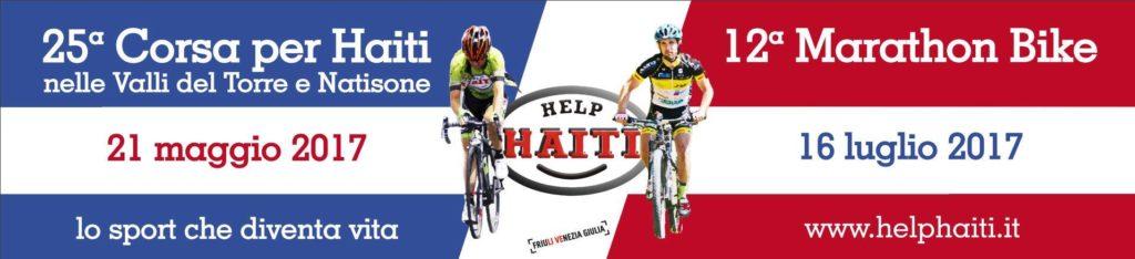 Nuovo striscione ad Attimis per la Granfondo del 21 maggio e la  Marathon Bike del 16 luglio 2017