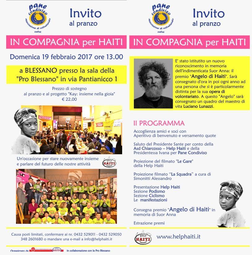 invito IN COMPAGNIA con HAITI
