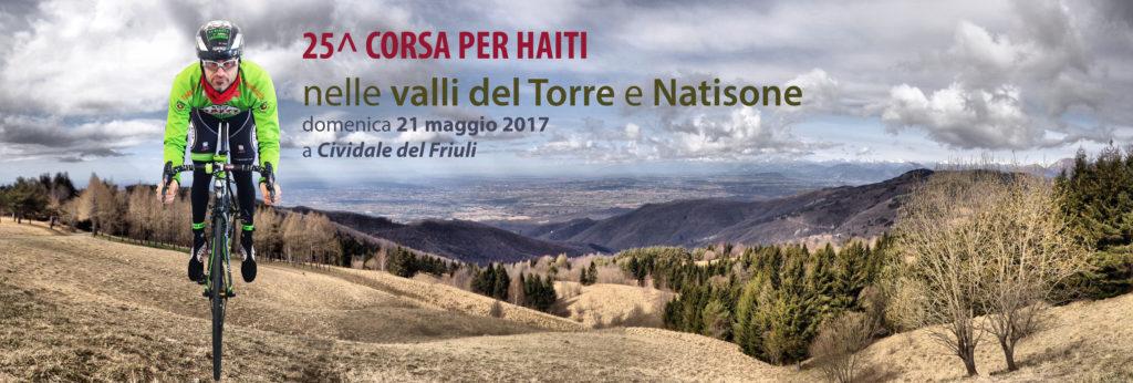 Promo 25^ Corsa per Haiti del 21 maggio 2017