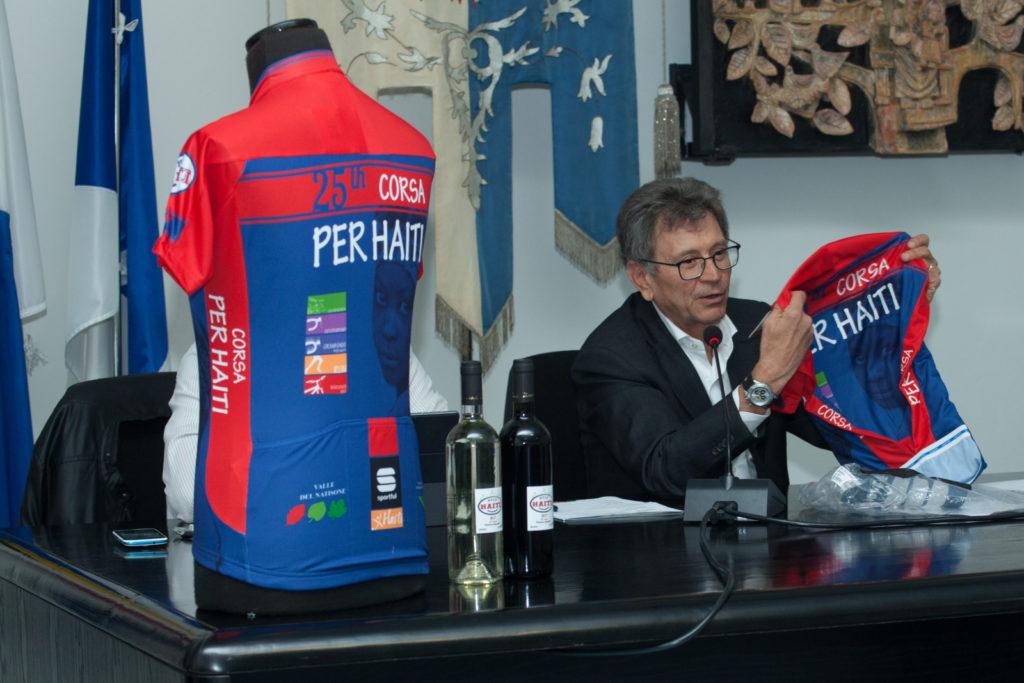 Presentata ufficialmente la 25^ della Corsa per Haiti