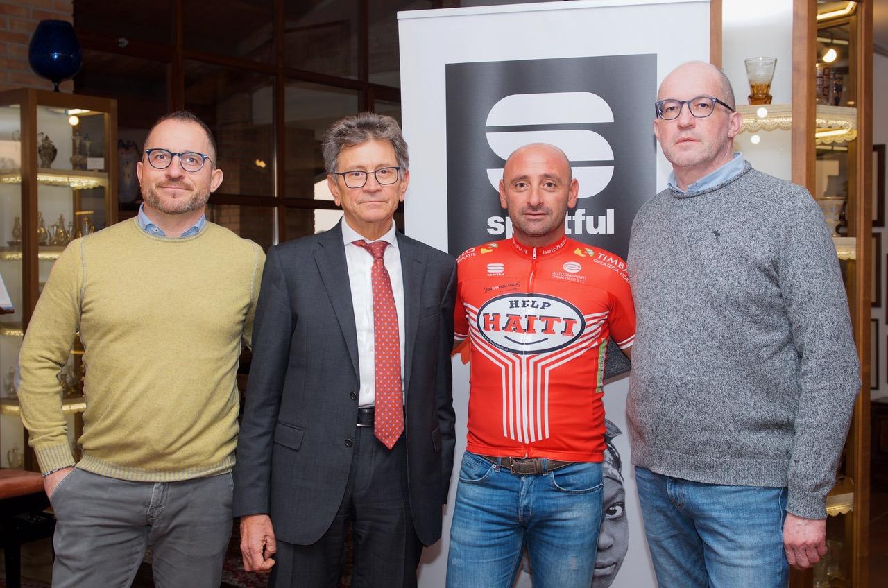 Paolo Bettini, Sante Chiarcosso e i rappresentanti di Sportful 2