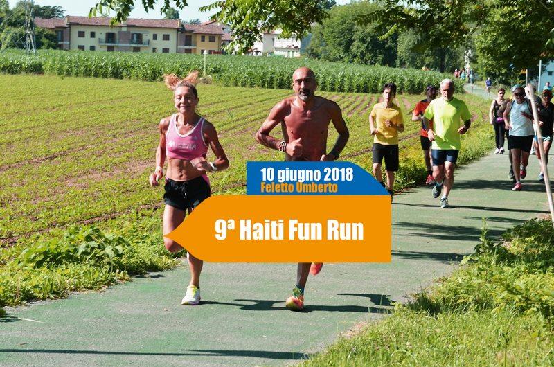 "9ª ""Haiti Fun Run"" a Feletto Umberto"
