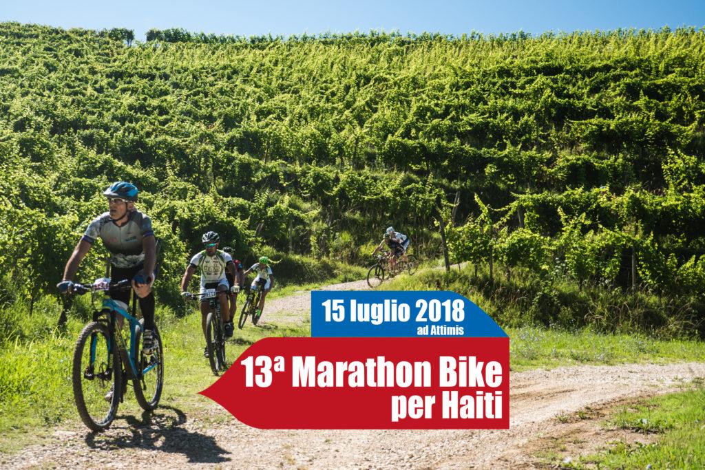 13^ Marathon Bike per Haiti, in mountain bike per le valli del Torre